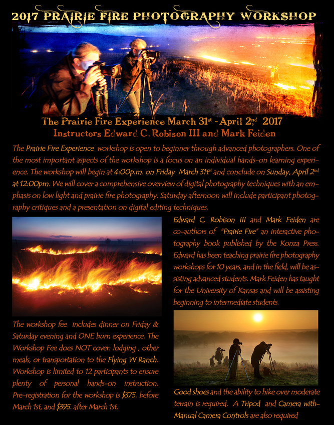 2017 Prairie Fire Photography Workshop